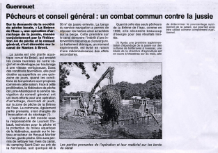 2001 Article-journal-canal-nantes-brest-jussie