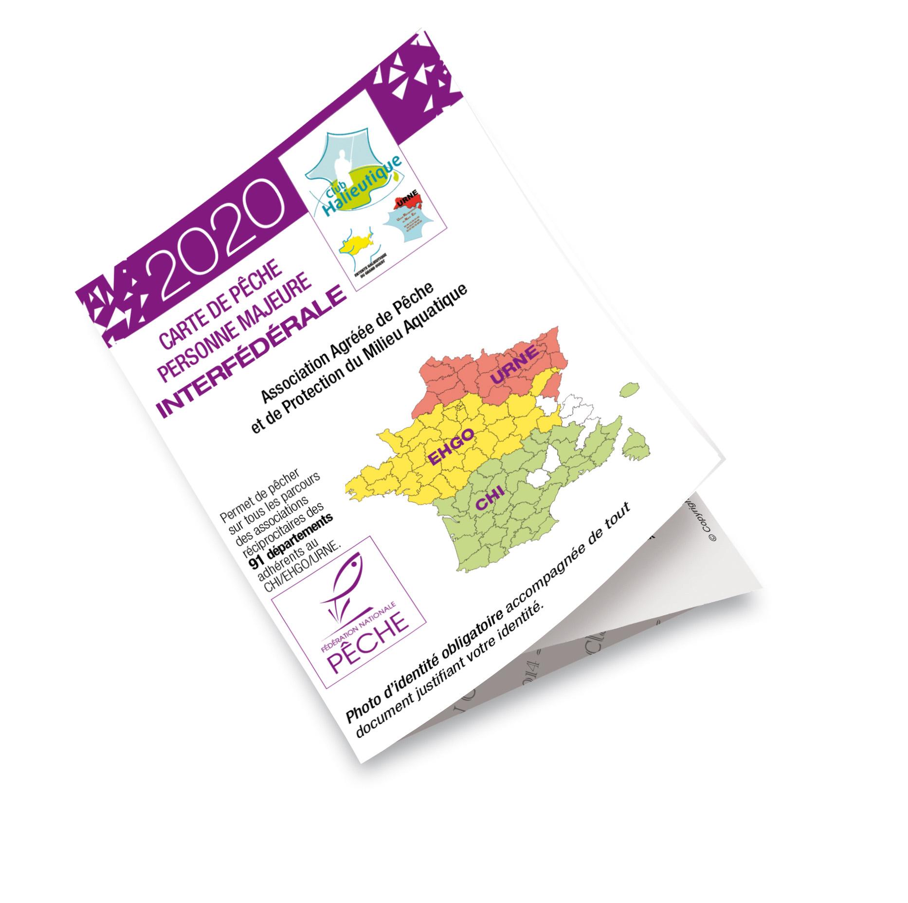 carte de peche tarif Tarifs cartes de pêches en 2020   Fédération de pêche 44